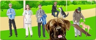 Take care of dogs in your dog grooming salon or veterinary clinic, help them improve continuously with the help of the other dog breeders in your kennel club, etc...